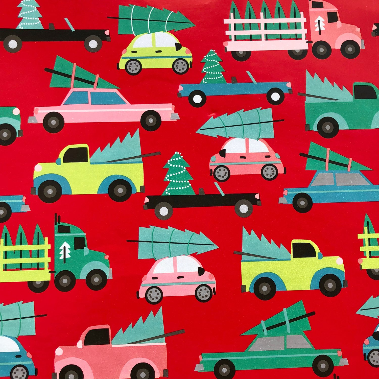 Jillson & Roberts Gift Wrap, Family Tree (6 Jumbo Rolls 10ft x 30in)
