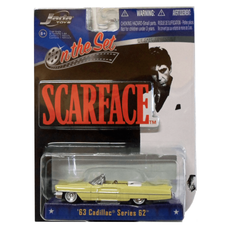 Scarface 1983 Al Pacino Film Car 1963 Cadillac Series 62 164 Kingpin