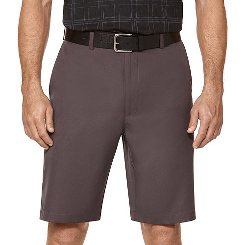 Ben Hogan Big Men's Performance Solid Flat Front Short