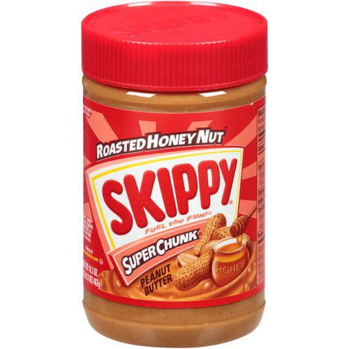 Skippy Roasted Honey Nut SuperChunk Peanut Butter, 16.3 oz