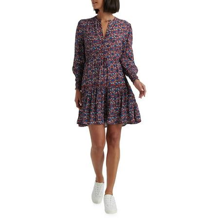 Paisley-Print Short Dress ()