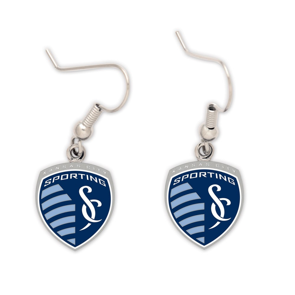 Sporting KC Official MLS .5 inch  Earrings by Wincraft