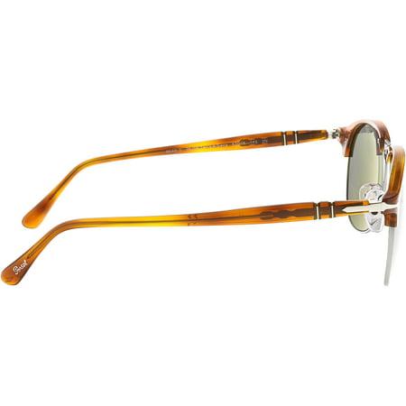 30a3a6c479 Persol Men s Mirrored PO8649S-96 56-53 Brown Oval Sunglasses - image 1 ...