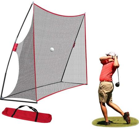 ZENY 10x7ft Portable Golf Net Hitting Net Practice Driving Indoor Outdoor w/Carry Bag