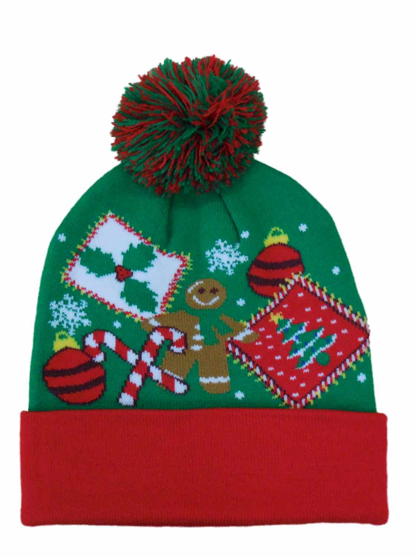 Holiday - Holiday Mens Green Christmas Beanie Stocking Cap Winter Hat -  Walmart.com 6e753e20c2b