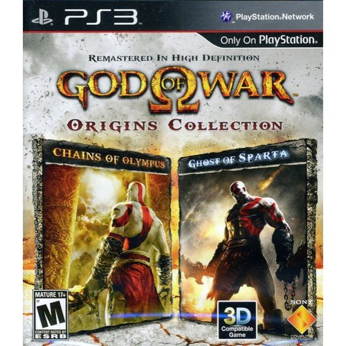 God of War Origins Collection, Sony, PlayStation 3, 711719828921