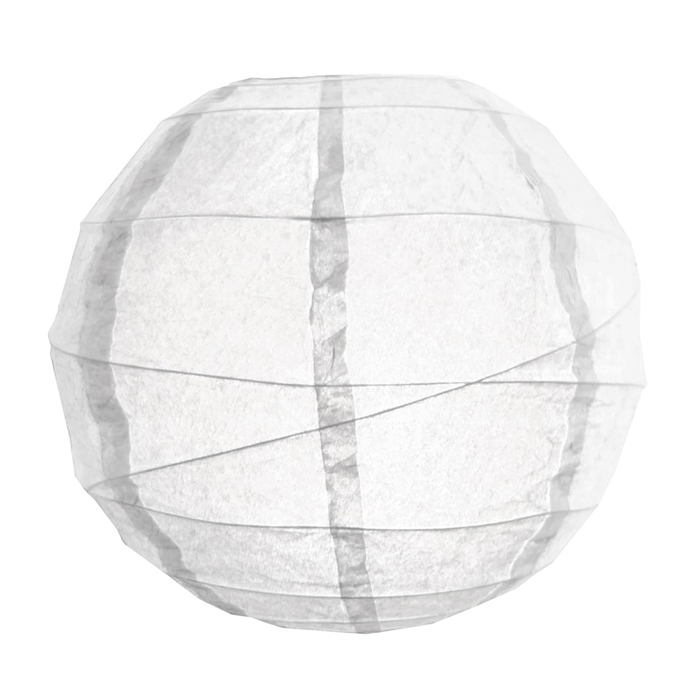 JH Specialties Inc. White 12-inch Criss Cross Paper Lanterns (Pack of 5)