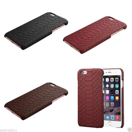 - Synthetic Snake Skin Case Snap-Fit Back Cover for iPhone 6 Plus / 6s Plus