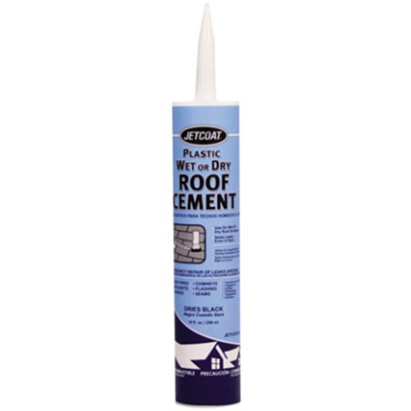 Part 61718 29Oz Wet Or Dry Roof Cement, by Jetcoat, Single Item, Great Value, Ne