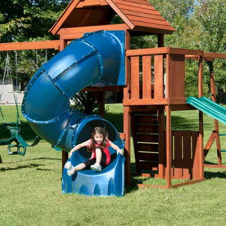 Swing-N-Slide Turbo Tube Slide that will fit most 5' decks play set great for your child