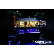 LED Lighting Kit for LEGO Stranger Things: The Upside Down set 75810