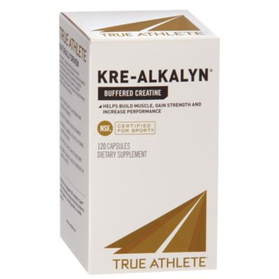 True Athlete Kre Alkalyn 1,500mg   Helps Build Muscle, Gain Strength  Increase Performance, Buffered Creatine  NSF Certified For Sport (120 (Best Way To Gain Muscle)