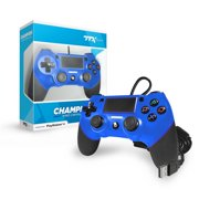 CHAMPION Wired Controller for PS4, Blue