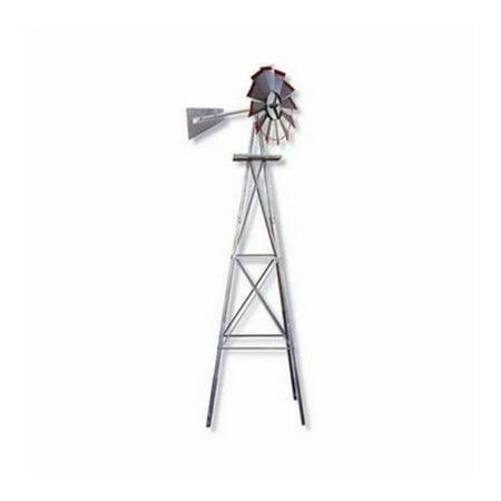 Brand New No.48A SMV Industries 8' American Windmill Lawn Ornament