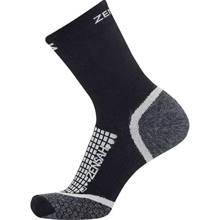 Zensah Grit Crew Running Sock (Best Trail Running Socks)