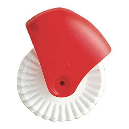 Pasta Wheel - Talisman Designs Pastry Wheel Cutter, Beautiful Lattice Pie Crust or Ravioli Pasta, Easy to Use, Easy to Clean