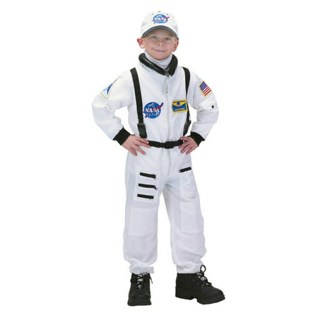 Aeromax Jr. Astronaut White Suit