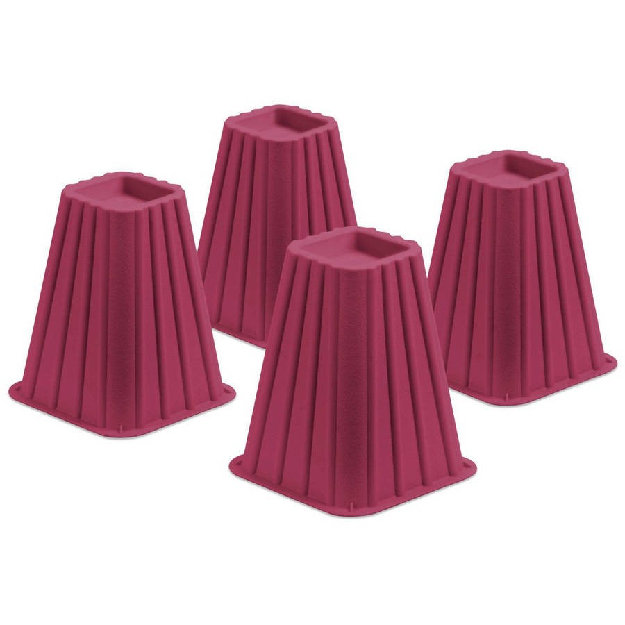 Honey Can Do Bed Risers Set Of 4