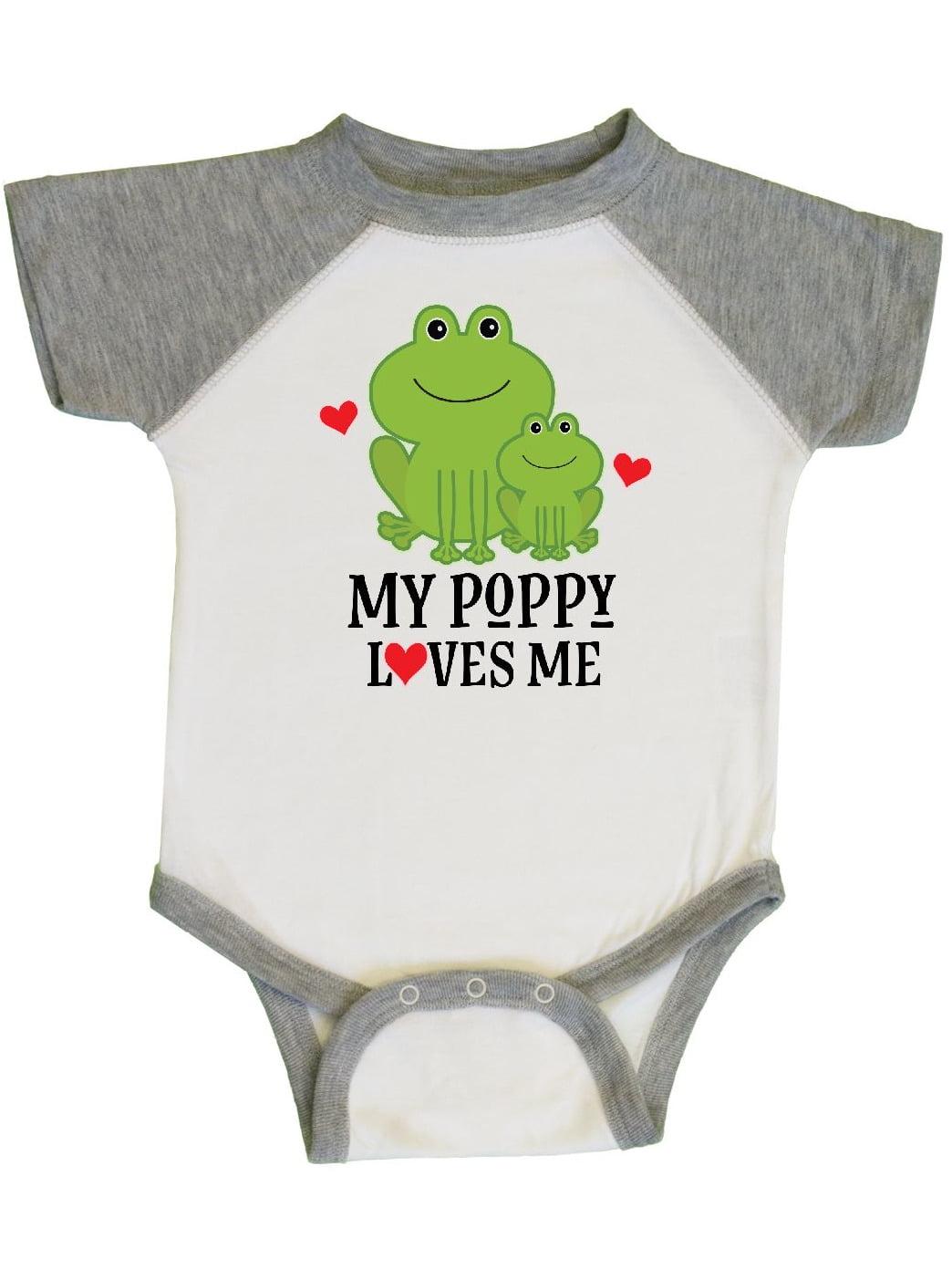 inktastic Grandaddy Loves Me Grandchild Gift Newborn Layette