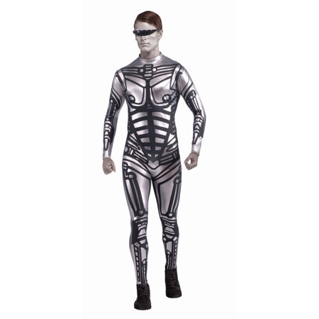 Halloween Robot - Male Adult Costume - Robot Costume Accessories
