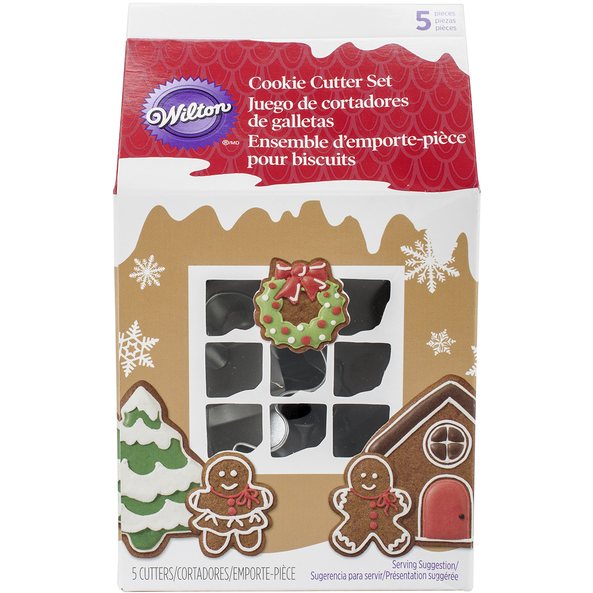 Wilton Vintage Christmas Cookie Cutter Set