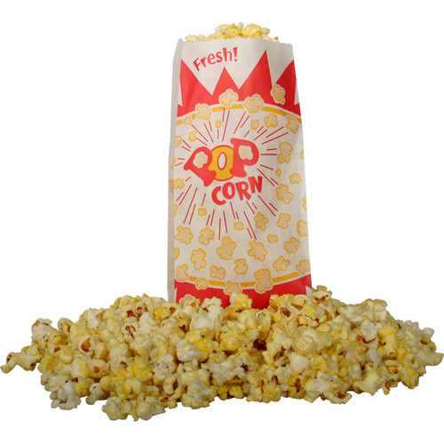 Snappy Popcorn Burst Design Popcorn Bag (Set of 1000)