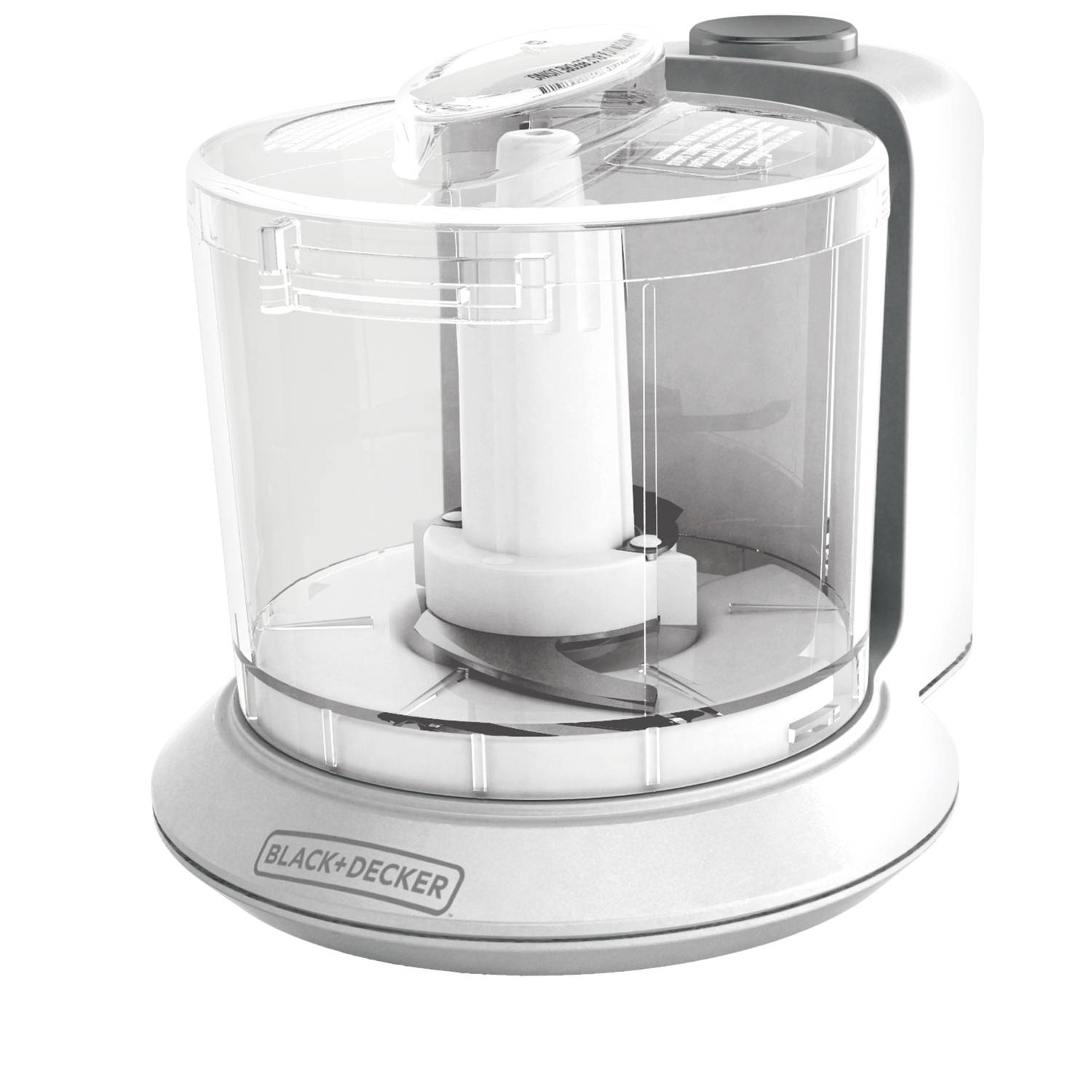BLACK+DECKER Handy Chopper Plus - 1.5-Cup, White, HC306