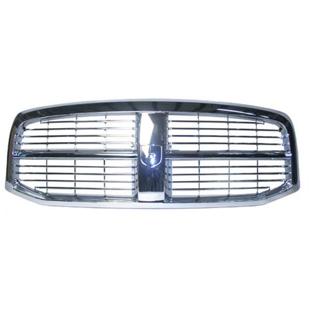 - Chrome Grill Assembly for Dodge Ram 1500, Ram 2500, Ram 3500 Grille CH1200281