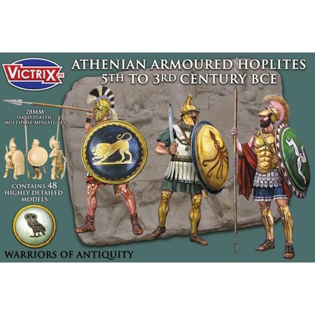 Athenian Armored Hoplites   5Th To 3Rd Bc New
