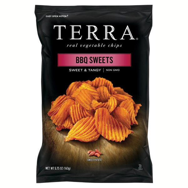 Terra BBQ Sweets Sweet & Tangy Real Vegetable Chips 6 oz ...