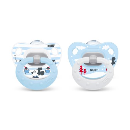 NUK Disney Mickey Mouse Orthodontic Pacifier, 6-18m