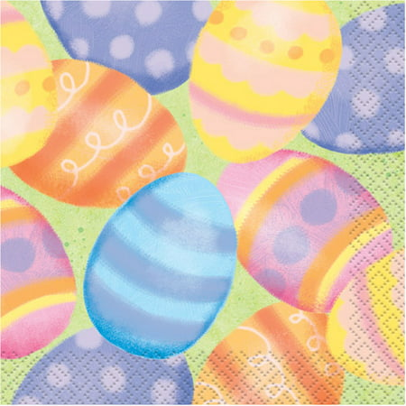Spring Easter Beverage Napkins, 16ct