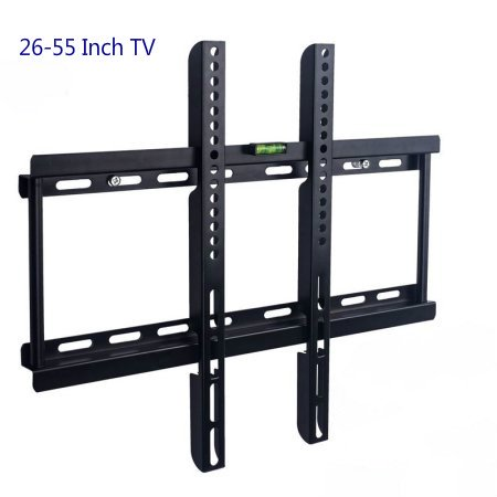 Ymiko TV Wall Mount Fits 32 40 43 48 50 55 Inches LCD LED Displays TVs Flat TV Wall Mount Bracket TV Stand For VESA Max 400 x (400 Mm Adaptor)