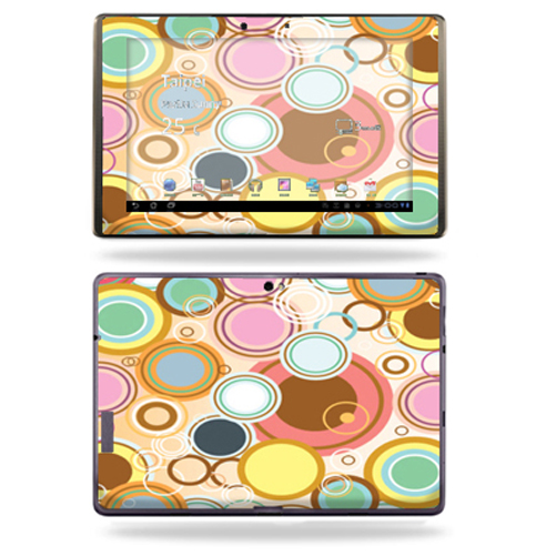 Mightyskins Protective Vinyl Skin Decal Cover for Asus Eee Pad Transformer Prime TF201 Tablet wrap sticker skins Bubble Gum