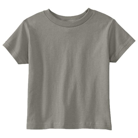 Rabbit Skins Toddler Crew Neck T-Shirt](Girls And Pink)