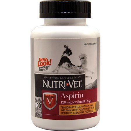 - Nutri-Vet Nutritionals K-9 Aspirin (100 tablets; For Small Dogs)