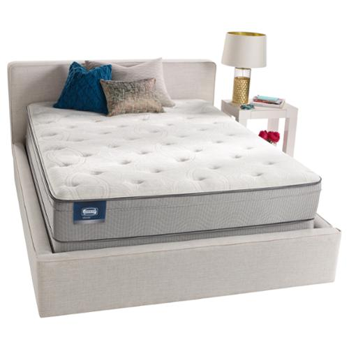 Simmons Beautyrest Simmons BeautySleep Kenosha Plush Queen-size Mattress Set