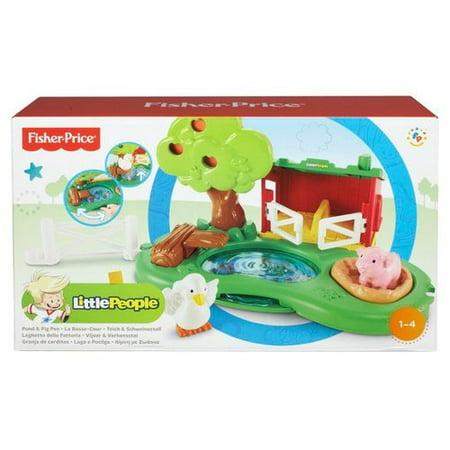 Little People Farm Pond & Pig Pen Play Set