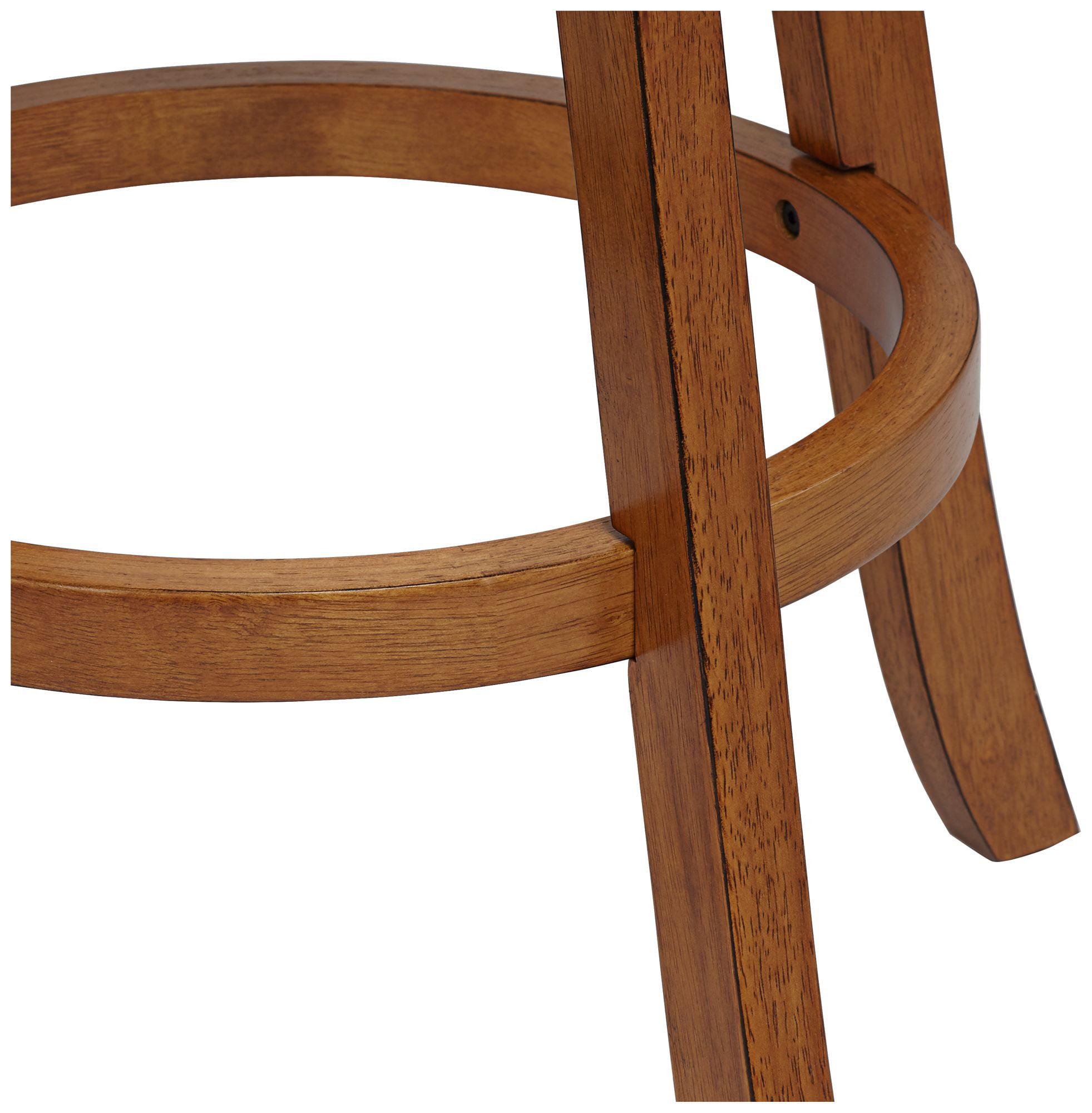 Hillsdale Furniture Fairfox Swivel Bar Stool, Medium Oak - Walmart.com