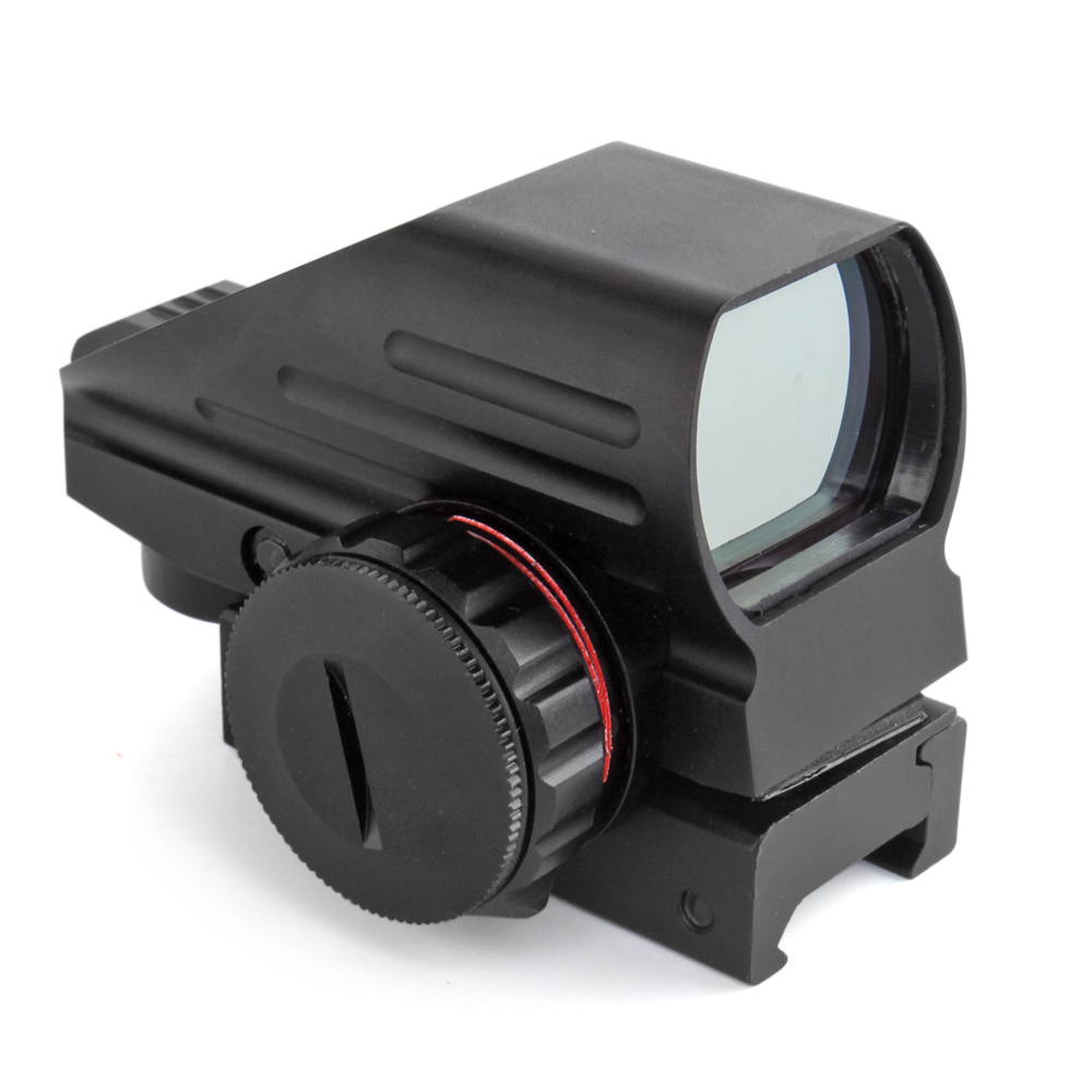 Holographic Red and Green Dot Sight Tactical Reflex 3 Different Reticles Hunting Paintball Tool for Shotgun Rifle Pistol with Locking Screw and a Battery