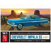 AMT 1013 1:25 1961 Chevy Impala SS Plastic Model Kit