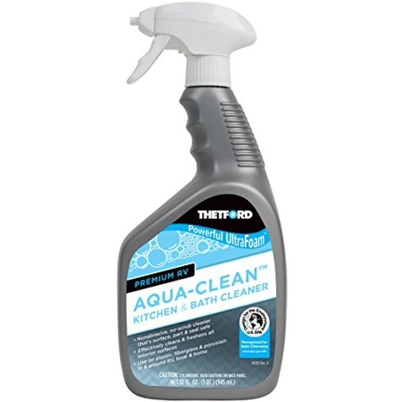 Thetford RV UltraFoam Aqua Clean Kitchen Bath Cleaner 36971 32 Oz Bottle