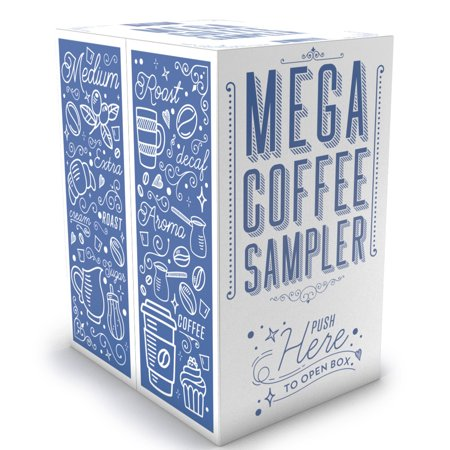 Two Rivers Coffee, Flavored Sampler, 40 Count Kcups