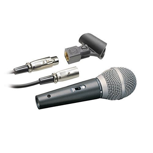 Audio-Technica ATR-1500 Cardioid Dynamic Vocal Instrument Microphone by