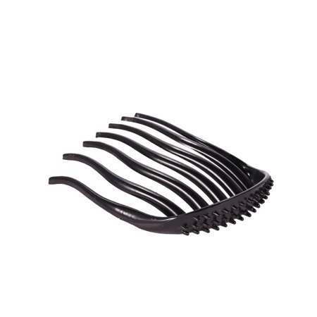 Women Vintage Style Plastic 7 Teeth Volume Insert Hair Comb Clips Hair Accessory HFON ()