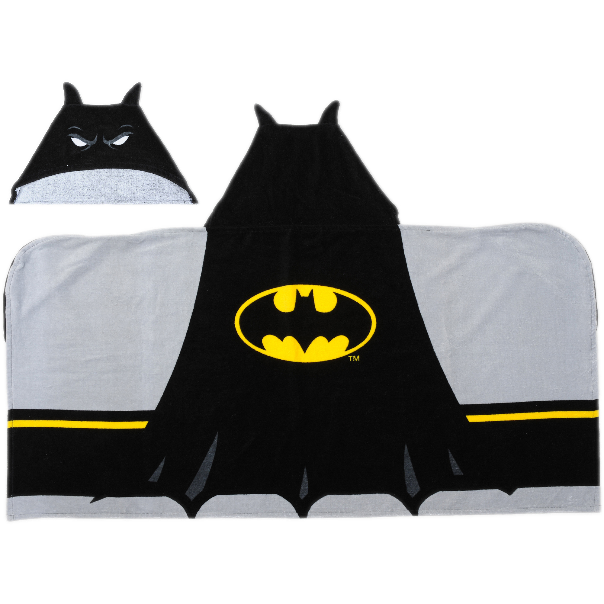 Batman Logo Hooded Bath Towel