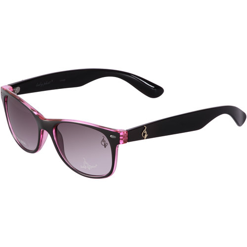 Baby Phat Women's Rx-able Sunglasses, Black and Pink
