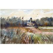 "Trademark Art ""Point Pinos Lighthouse"" Canvas Art by Ryan Radke"