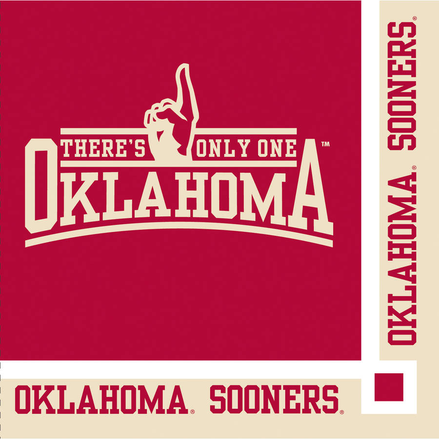 Oklahoma Sooners Beverage Napkins, 20-Pack