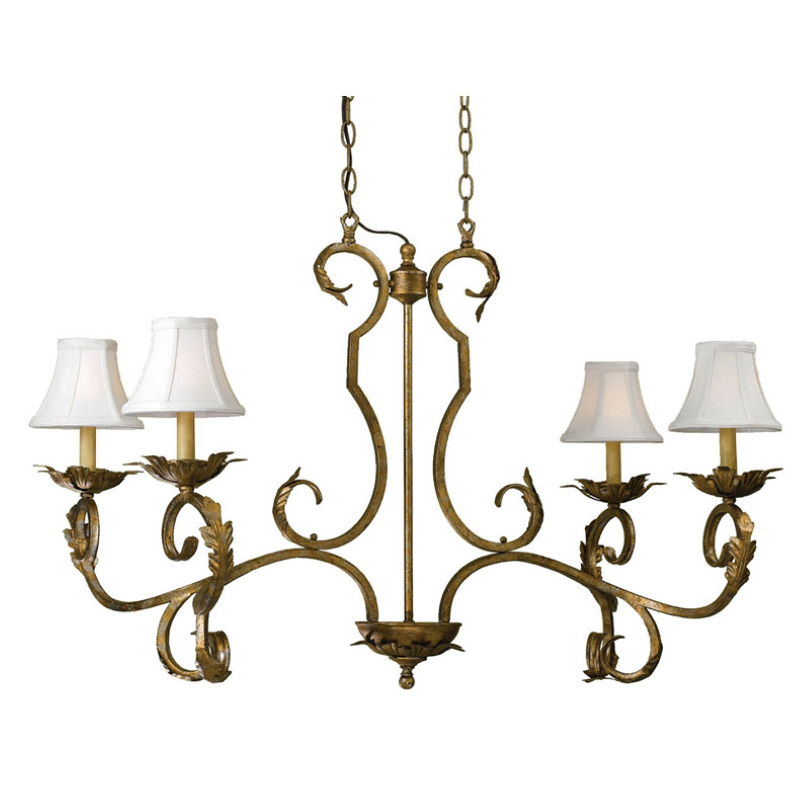 AF Lighting 6735 Four-Light Chandelier